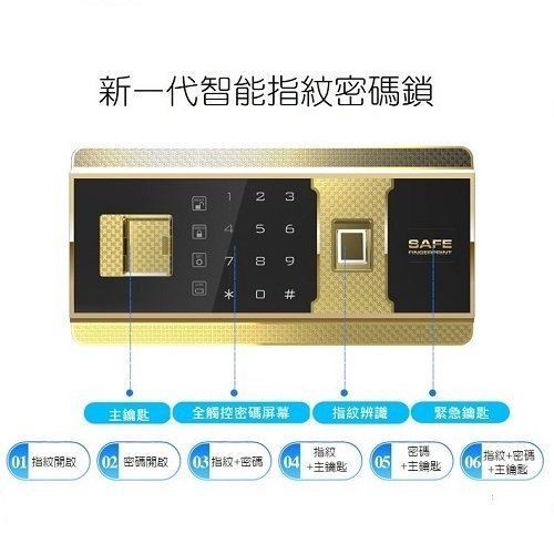 at-3038-fingerprint password lock20200924